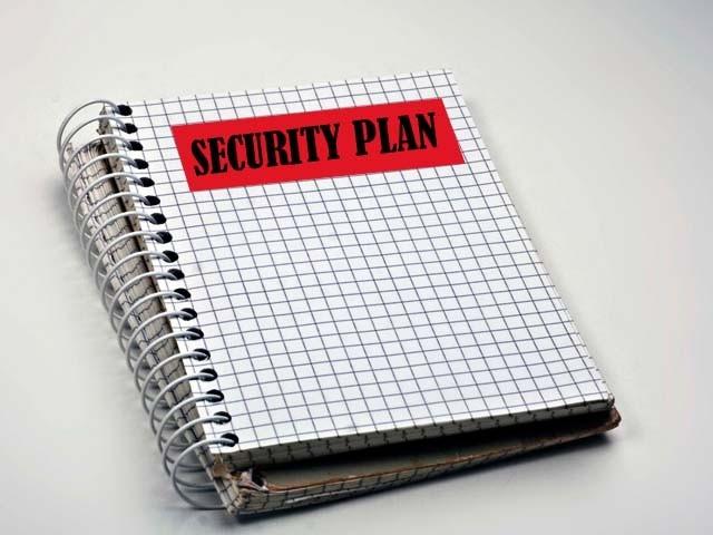 Security Plan Notebook