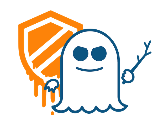 Meltdown and Spectre Logos Graphic